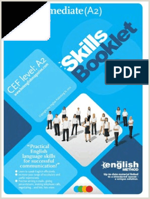 Bthe Best Business Cards Skills Booklet Pre Intermediate