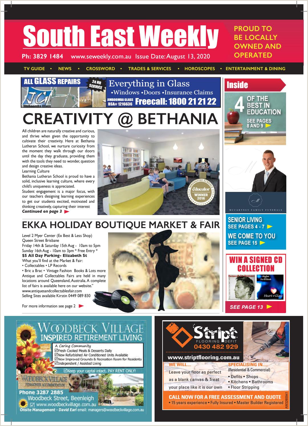 Bthe Best Business Cards South East Weekly August 13 2020 By South East Weekly