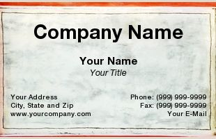 Buisness Card Borders Colored Borders Business Cards