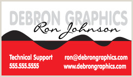 Buisness Card Graphics Debron Graphics Business Cards Template Designs
