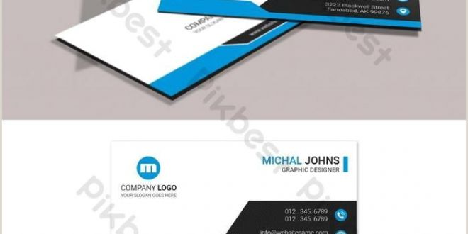 Buisness Card Graphics Minimal Business Card Design with Images