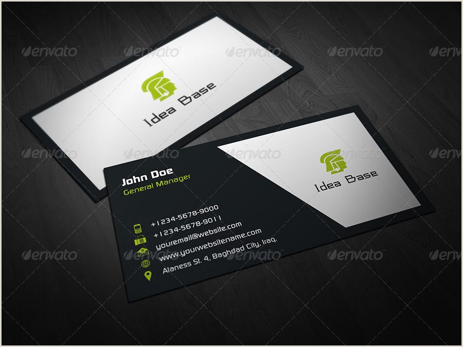 Buisness Card Information Corporate Business Card Bundle Vol 2