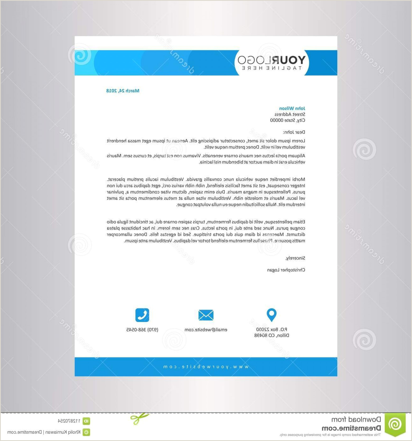 Business Card And Stationery Design Letterhead And Business Card Templates