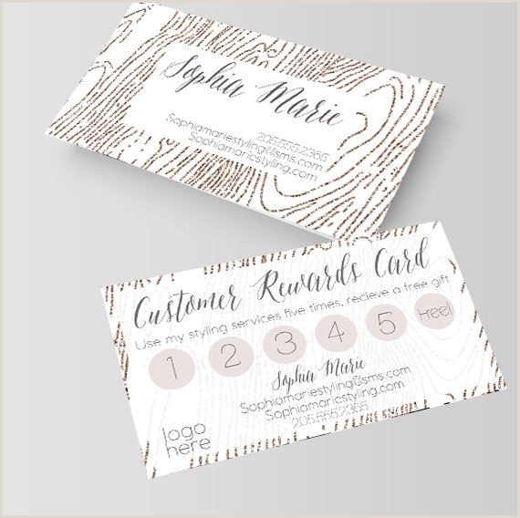 Business Card Awards White And Gold Wood Grain Business Card Loyalty Card