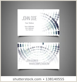 Business Card Back Side Front Back Business Card Stock S & Vectors
