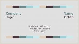Business Card Color Schemes Color Binations Business Card Template
