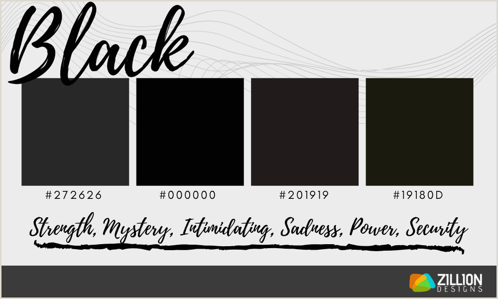 Business Card Color Schemes Color Moods In Graphic Design