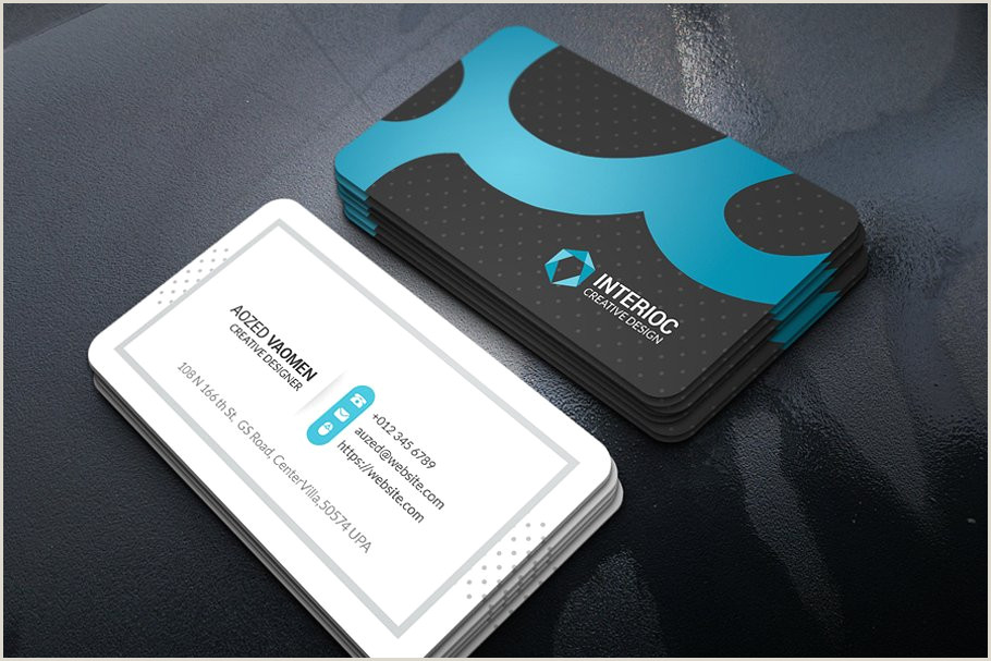 Business Card Colors Color Business Card
