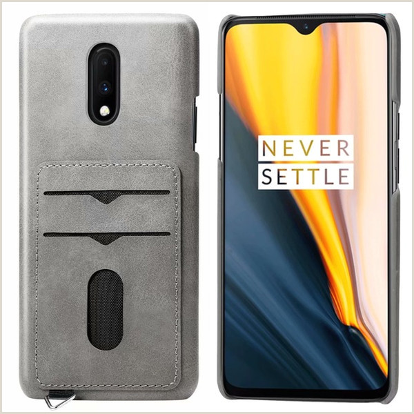 Business Card Contact Info Mobile Phone Bag E Plus 7 Pro One Plus Carcasa Business Card Holder Luxury Leather Wallet Hard Back Cover Spinning Top Tablet Tough Cell Phone Cases