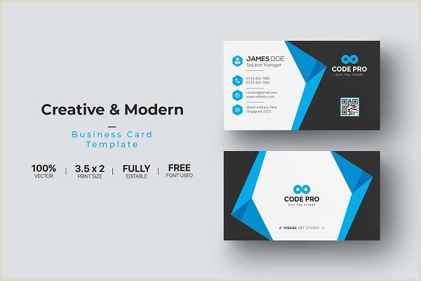 Business Card Creation Business Card