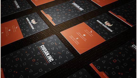 Business Card Creation Creative Vertical – Business Card