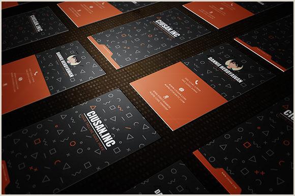 Business Card Description Creative Vertical – Business Card
