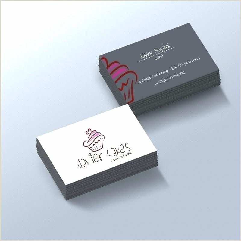 Business Card Design Ideas Business Cards Templates Free Download Cake Business Card