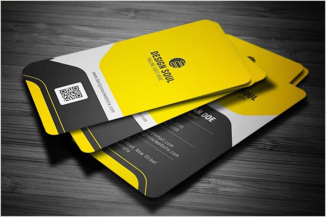 Business Card Designs 2020 20 Best Modern Business Card Templates 2020 Word Psd
