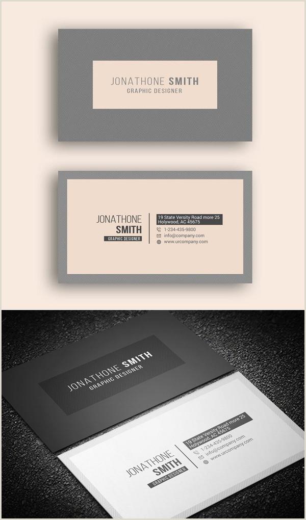 Business Card Designs 2020 Business Card Templates – 29 Design Design
