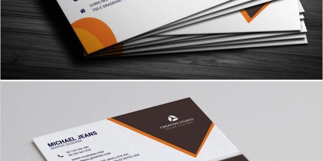 Business Card Designs Templates Modern Business Card Template