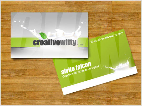 Business Card Example 55 Beautiful Business Card Designs