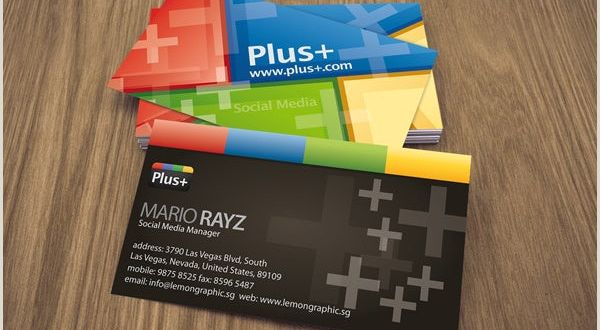 Business Card Examples with social Media 13 social Media Business Card Templates Psd Word Ai