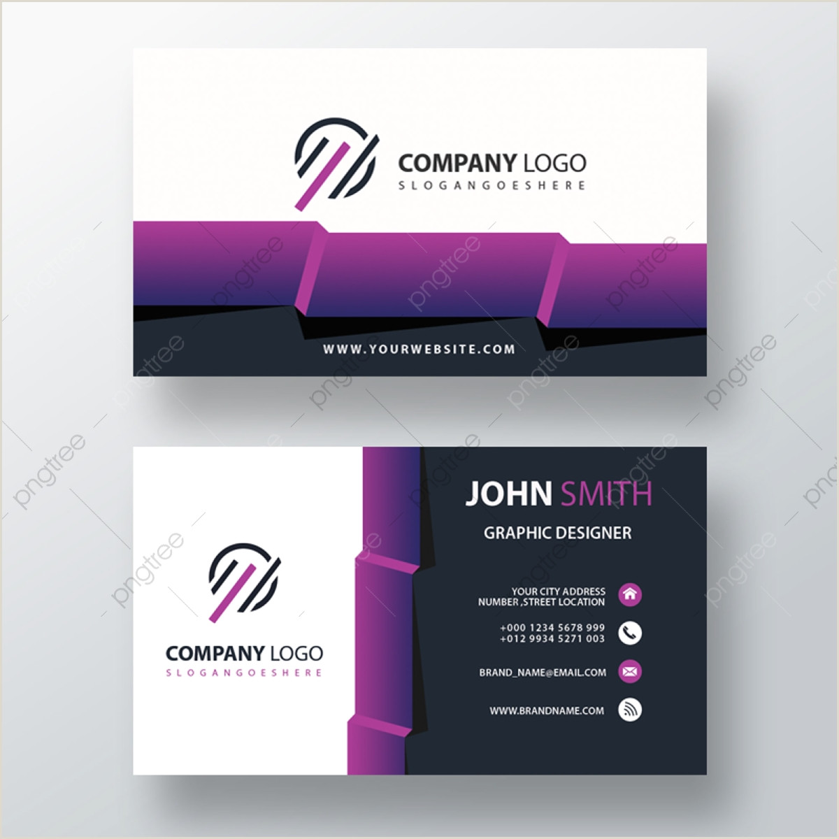 Business Card Formats Business Card Format Png