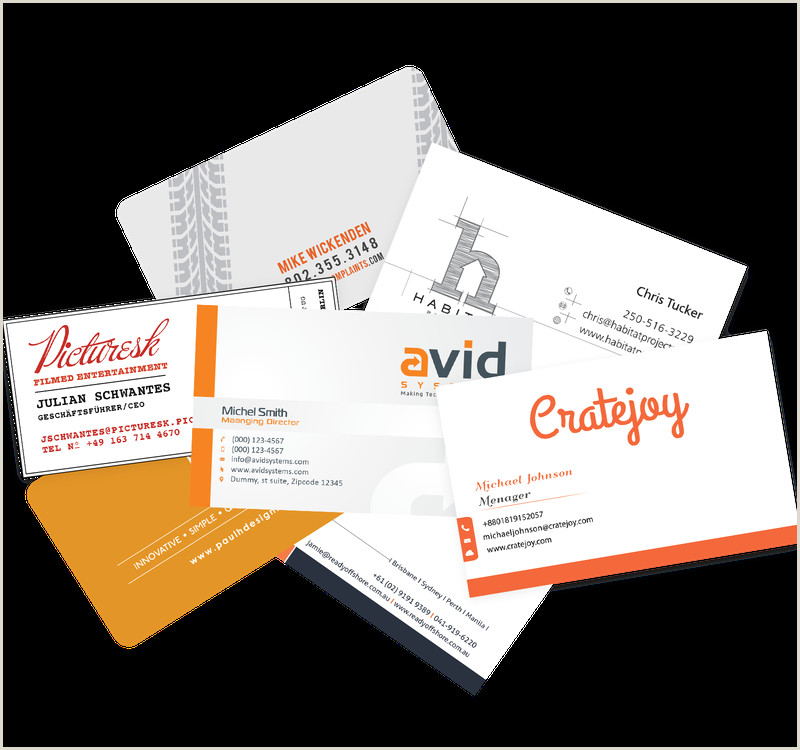 Business Card Formats How To Design Business Cards Business Card Design Tips For