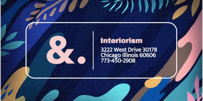 Business Card Ideas for Artists 20 Best Artistic Business Card Designs for Creatives