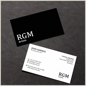 Business Card Ideas For Artists Artists Business Cards