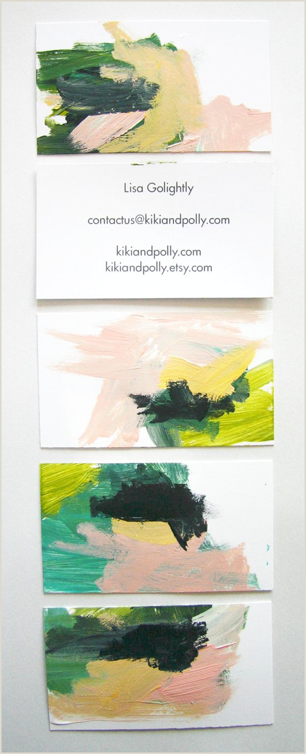 Business Card Ideas For Artists Business Cards