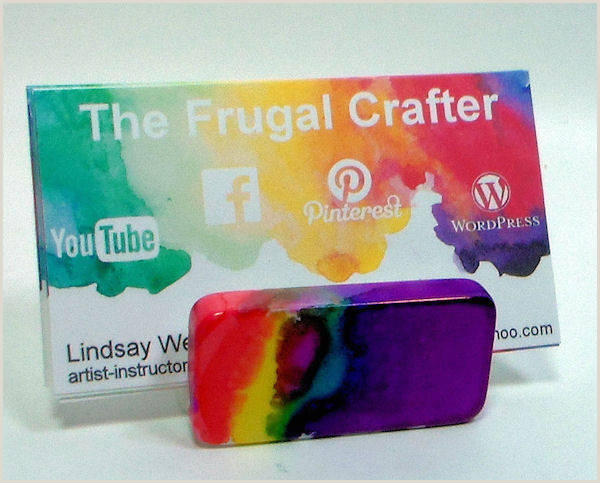 Business Card Ideas For Crafters Diy Business Card Holder