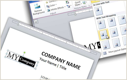 Business Card Layout Word How To Design A Business Card Using Word Printit4less