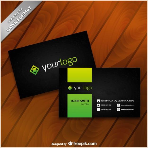 Business Card Logos Free Vector