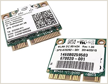 Business Card Manufacturers Amazon Hp 6235anhmw 802 11n 2×2 Bt 0d Wifi 001
