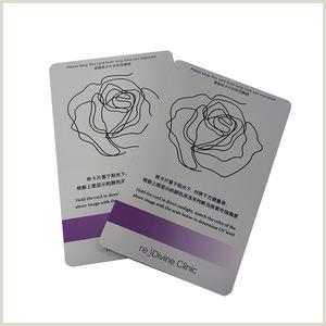 Business Card Manufacturers Custom Design Uv Test Pvc Card Business Pvc Card