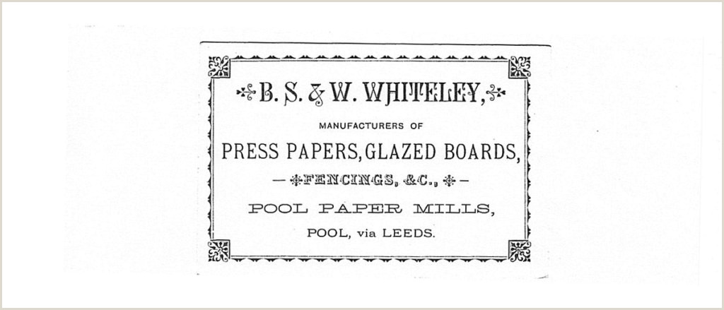 Business Card Manufacturers Low Mill Early Years – Pool In Wharfedale