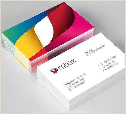 Business Card Manufacturers Rebox Corporate Identity By Paola Flores