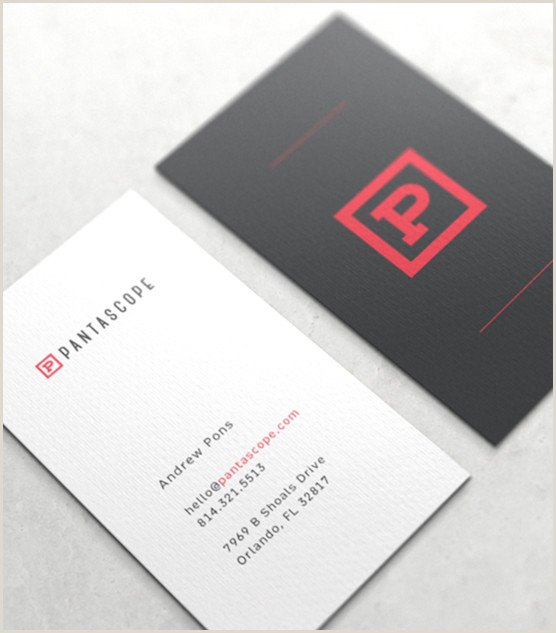 Business Card Model 50 Of The Best Business Card Designs