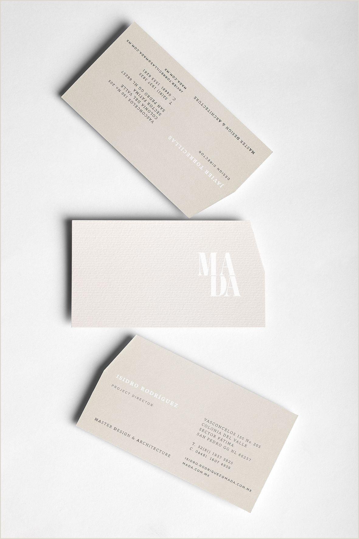 Business Card Pinterest Mada On Behance