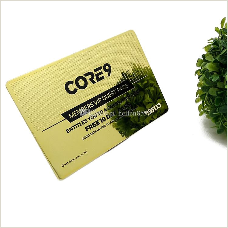 Business Card Printing Near Me 2020 Custom Printing Business Card Cheap Metal Gold Plated Gold Edge Business Cards From Hellen8599 $155 78