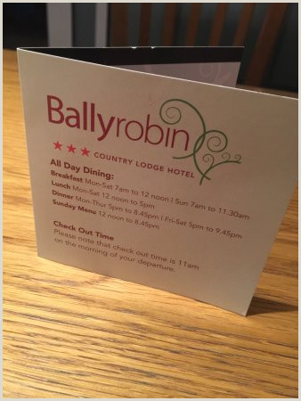 Business Card Recommendations Photo0 Picture Of Ballyrobin Country Lodge Aldergrove