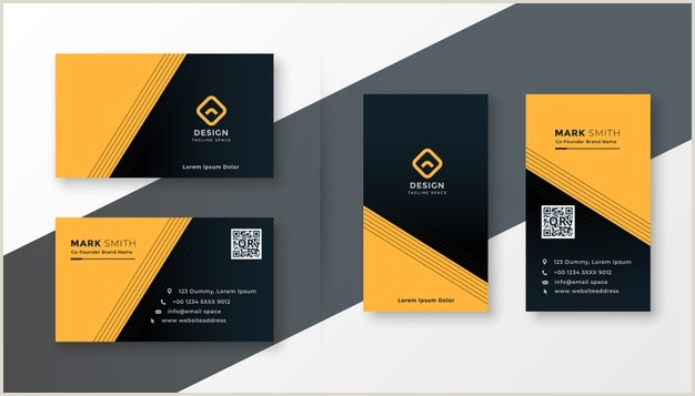 Business Card Simple Design Simple Business Card