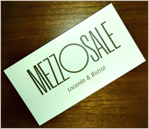 Business Card Text Halfsalt S Business Card Picture Of Mezzosale Conegliano