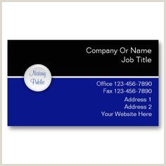 Business Card Title Examples Notary Public Business Cards