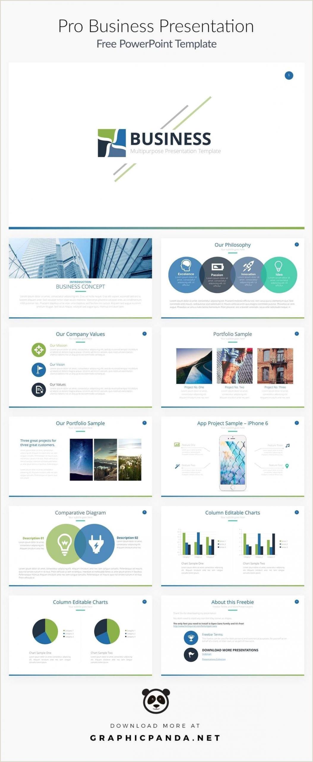 Business Card Website Template 21 Ppt Template Business Powerpoint Business Card Template