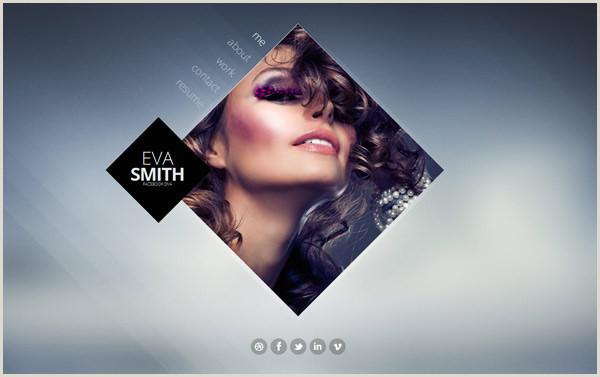 Business Card Website Template 25 Creative Vcard Business Card HTML Templates
