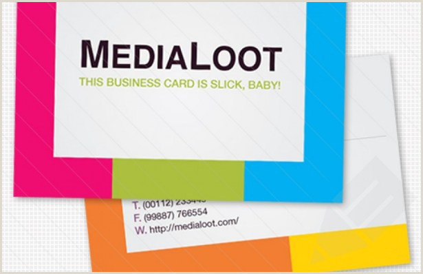 Business Card Website Template 25 Excellent Business Card Templates For Your Own Use