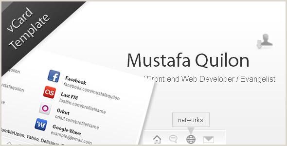 Business Card Website Template Minimal HTML Business Card Website Templates From Themeforest