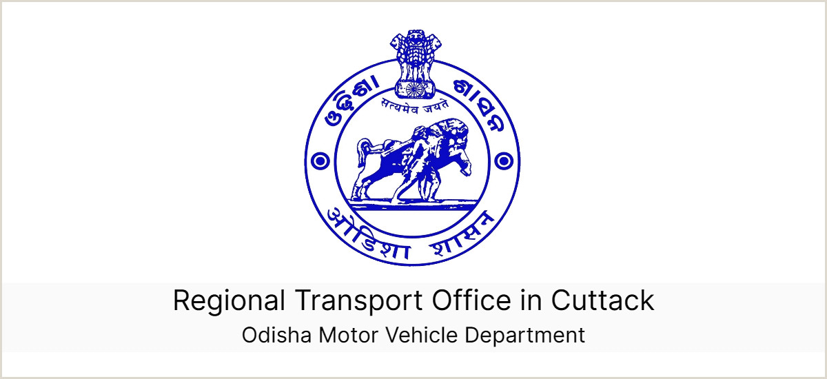 Business Card With 2 Addresses Cuttack Regional Transport Fice Rto And Helpline Numbers