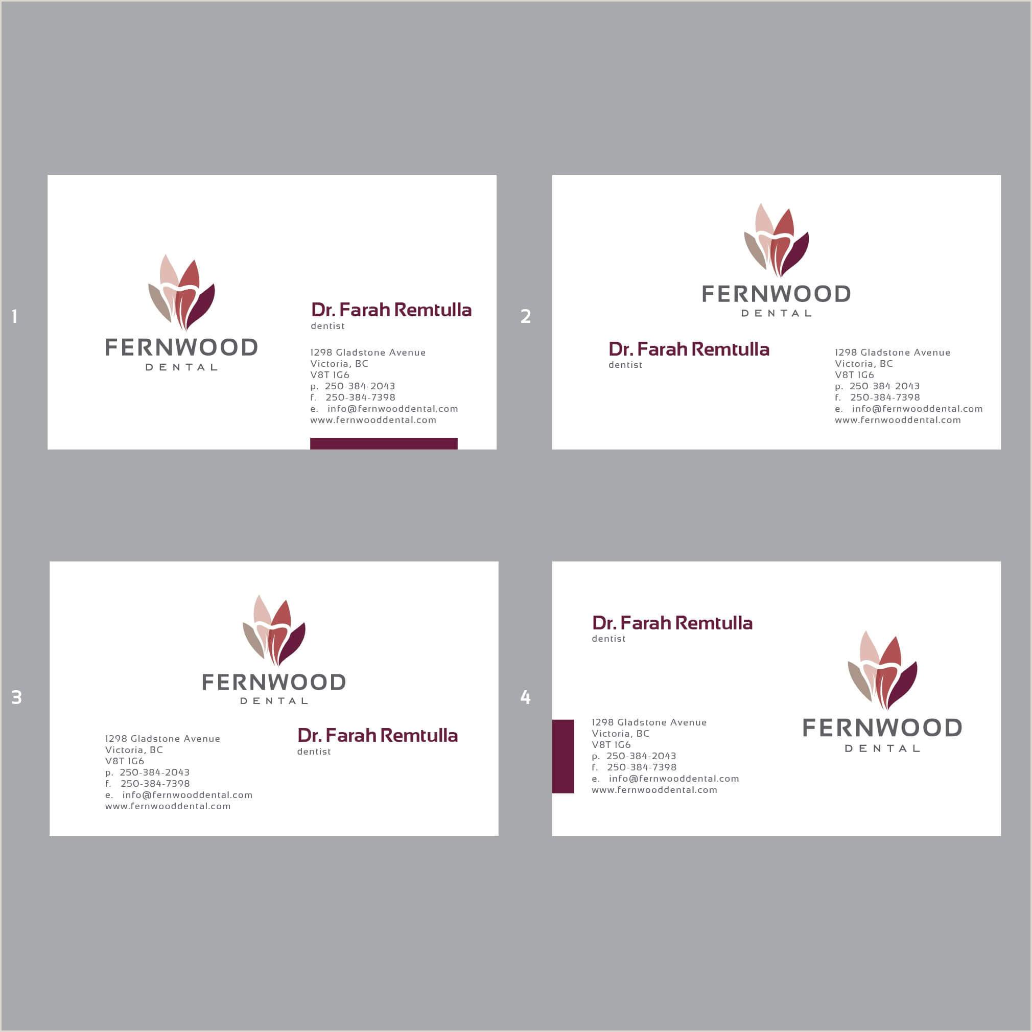 Business Card With Logo Business Card Logo Logodix