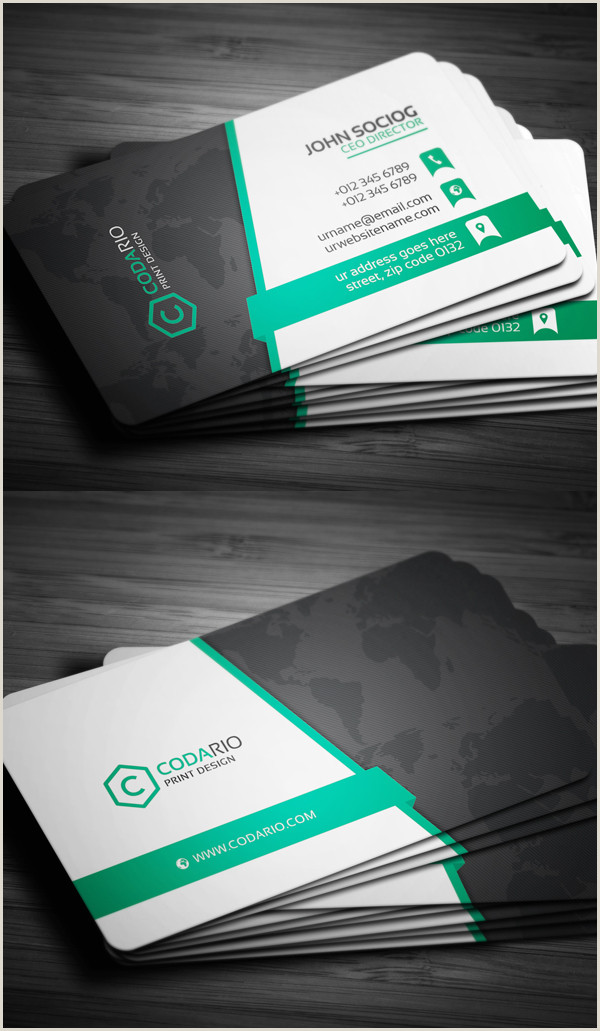 Business Card With Photo And Logo 80 Best Of 2017 Business Card Designs Design