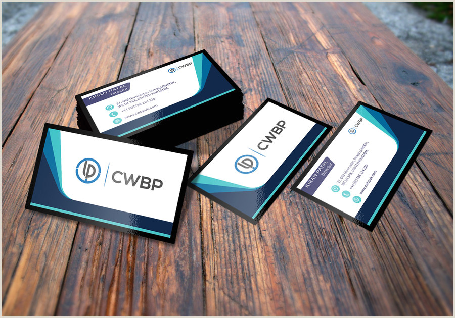 Business Card With Photo And Logo Entry 84 By Snjghosh16 For Business Card For Consulting
