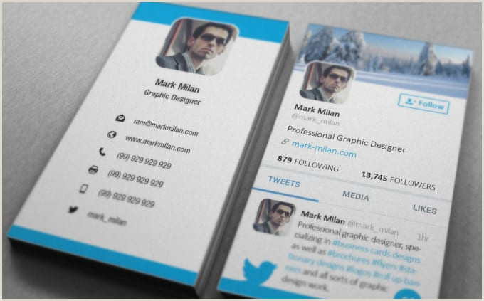 Business Card With Social Media 9 Must Have Social Media Business Cards To Make Your Own